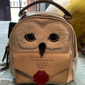 NWT Harry Potter Hedwig Backpack